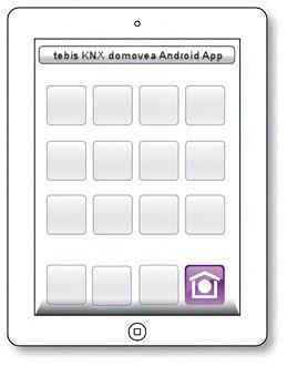 tebis knx domovea app for android hager onlinekatalog. Black Bedroom Furniture Sets. Home Design Ideas