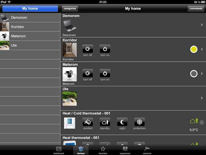 tebis knx domovea ipad app hager onlinekatalog. Black Bedroom Furniture Sets. Home Design Ideas